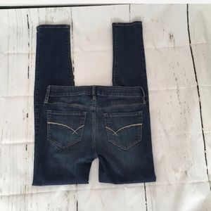 Bullhead Black Straight Leg Blue Jeans